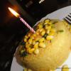 Cornmeal Cake/ Cornmeal Dhokla