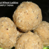 Nariyal-Atta Ladoo/ Coconut Wheat Ladoo