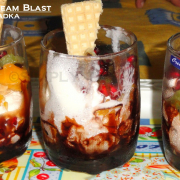 Fruits and Ice-cream Blast