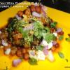 Green Tikki on Protein Platter/ Green Tikki with Chickpeas Curry