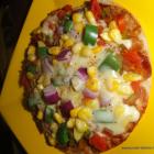 Pizza on Tawa/ Homemade Pizza/ Healthy Pizza