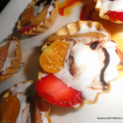 Duet of Fruit & Ice-cream Tart