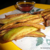 Eggplant Fries/ Brinjal Fries/ Baigan Kurkure