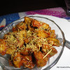 Aloo Chaat/ Potato Chaat