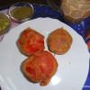 Tomato Vada/ Stuff Tomato Vada/ Tomato Pakora