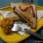 Tangy Noodle Sandwich