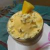 Nutty Mango Shake with Ice-Cream