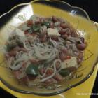 Spaghetti with Bean Curry