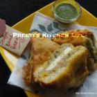 Stuffed Bread Pakora/ Sandwich Pakora