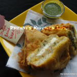 Stuffed Bread Pakora/ Sandwich Pakora