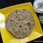 Paneer Pyaaz Paratha/ Cheese Onion Paratha