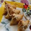 Cheesy  Spicy Onion Samosa