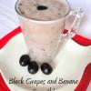 Grapes and Banana Smoothie| Smoothie Recipes