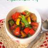 Capsicum Stir Fry  Capsicum Recipes