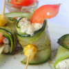 Zucchini and Cheese Mops