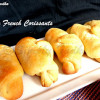 Eggless Croissants