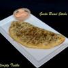 Garlic Bread (Dominos Style) with Chili Mayo