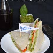 Basil and Coriander Pesto Sauce- Homemade