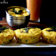 Vegetable Bread Dhokla