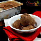 Ginger Chocolate Ice-cream | Eggless Ginger Chocolate Ice-cream recipes