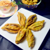 Karela Shaped Namkeen | Namkeen Palak Karela | Spinach Champakali Nimki | Elo Jhelo Recipe