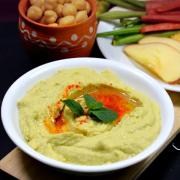 Avocado Hummus Dip | Homemade Dips