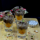 Motichoor Chocolate Pudding Parfait