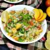 Peach Tabbouleh | Lebanese Tabbouleh Recipe