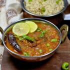 Kala Chana Masala | Black Chickpea Curry with Jeera Brown Rice