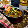 Sprouted Moth and Palak Curry   Protein Rich Sprouts Recipe