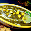 Palak Makai Ki Sabzi   Spinach Corn Curry