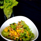 Mango Chickpea Salad | Summer Salad