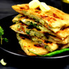 Afghani Bolani | Potato and Green Onion Stuffed Flatbread Recipe