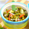Hare Chane Ki Chaat | Green Chickpea Chaat