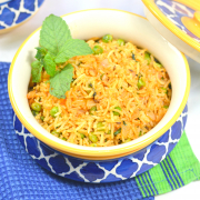 Matar Pudina Pulao (Green Peas And Mint Rice)