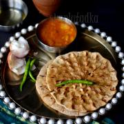 K- Kobha Roti | Biscuit Roti Recipe | Jadi Roti