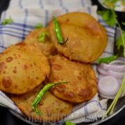Yellow Dal Poori | Leftover Dal Poori Recipe