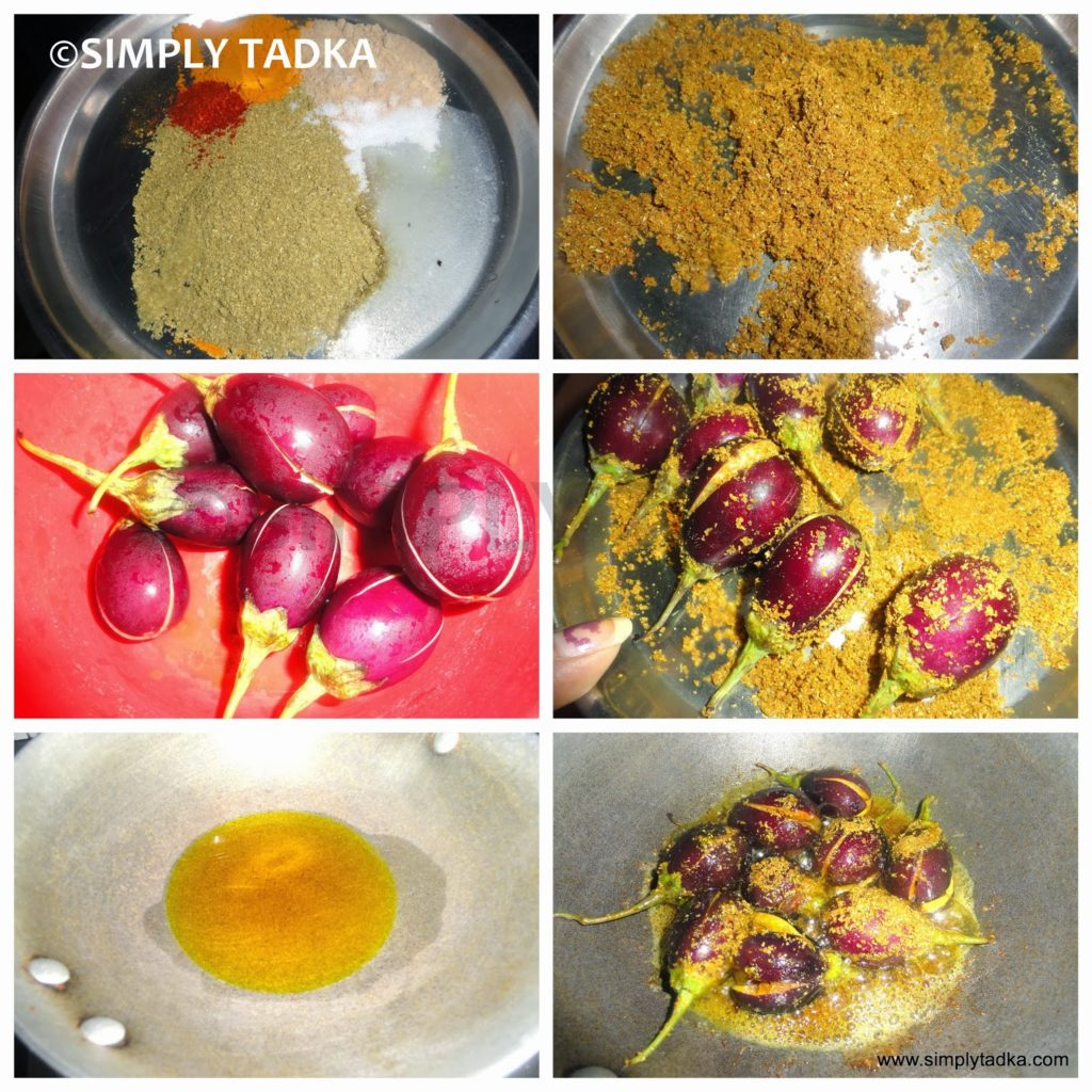 Bharwa Baingan Brinjal Recipes Simply Tadka